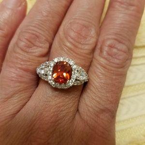 Jewelry - NWOT Cz Dazzle Ring Size 10